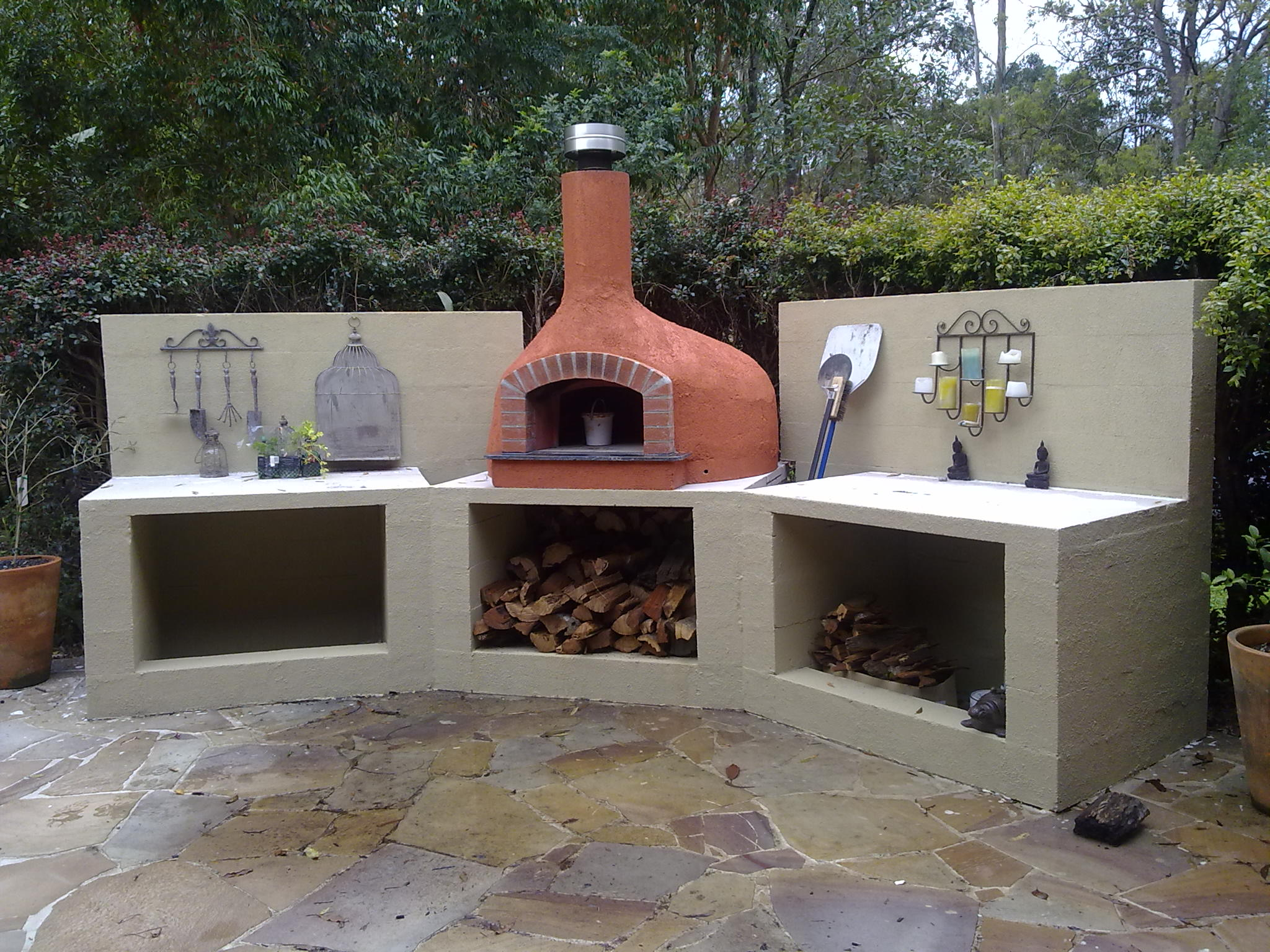 top Pizza Oven and stand