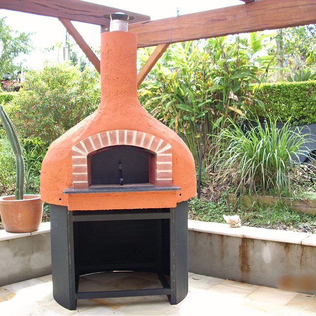 Complete wood fire oven